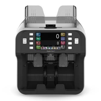 PULOON Eagle Eye 7 Banknote Sorter & Counterfeit Detector Machine